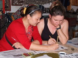 Chinese Calligraphy and Painting Class in Yangshuo