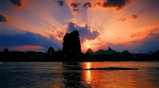 Fubo Hill, Guilin Sunset Photo