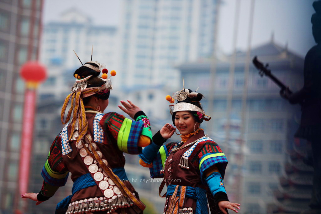 Guizhou Miao Ethnic Minority Village