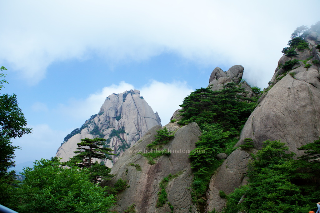 Huangshan Peak Immortal - Yellow Mountain, Mt. Huangshan, Anhui China