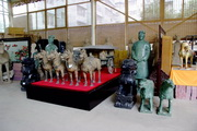 Xian tour, Terracotta Warriors Replicas Workshop