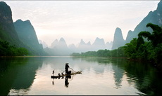 Scenery on the Li River