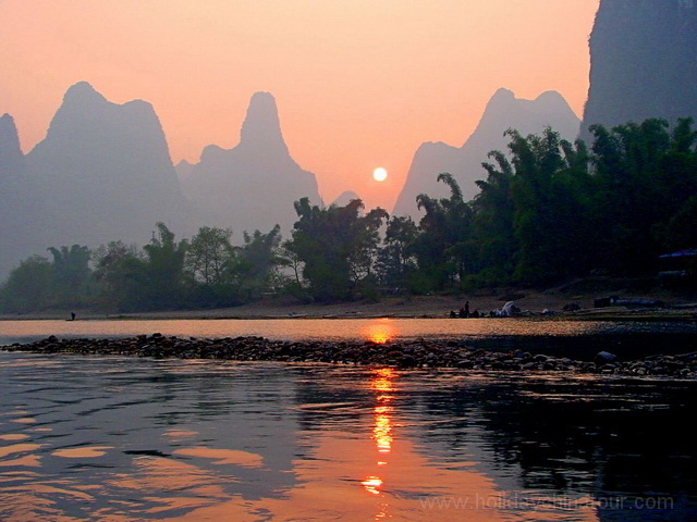 Xialong Scenery , Li River, Yangshuo