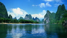 Scenery by the Li River
