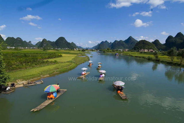 GYulong River, Yangshuo