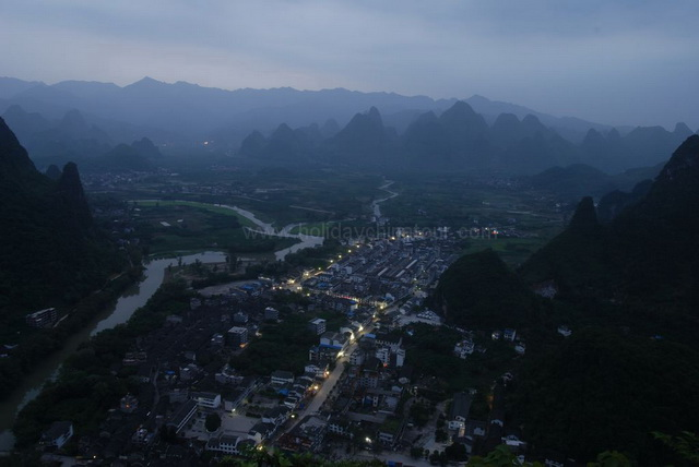 Xingping Evening Photo