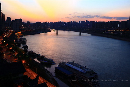Chongqing Sunrise Photo
