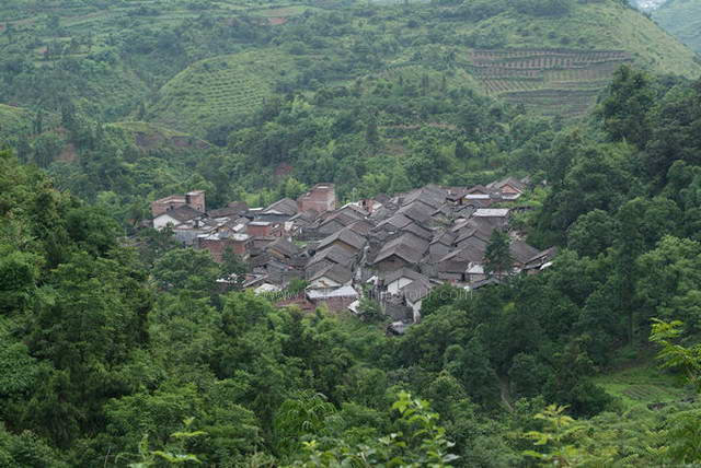 Stone Village, Birds-eye-view