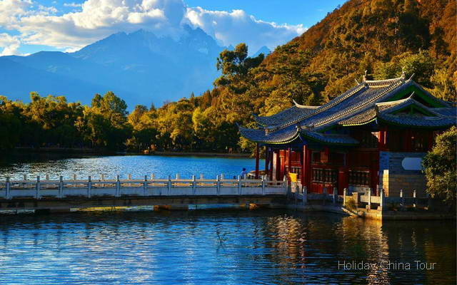 Black Dragon Lake, Lijiang