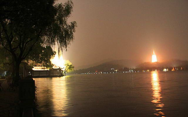 China West Lake in Hangzhou