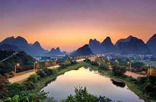 Guilin Sunset, Dudu Hill