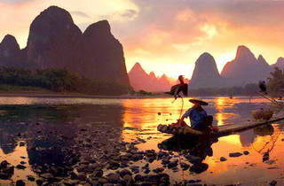 Lijiang River Sunset, Xingping