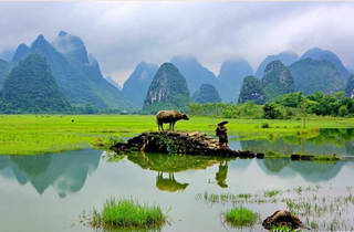 Guilin countryside photo
