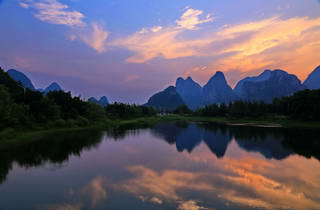 Guilin Sunset