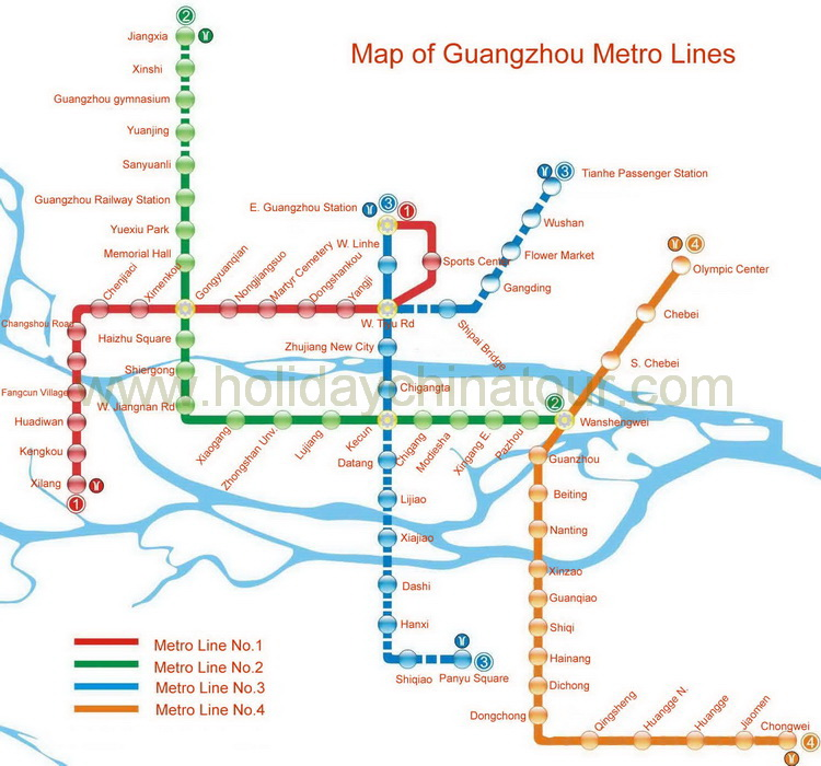 Guangzhou tour map guangzhou travel maps guangzhou tour guangzhou metro map gumiabroncs Image collections