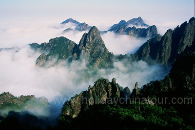 Huangshan Photo Mist on the Mountain