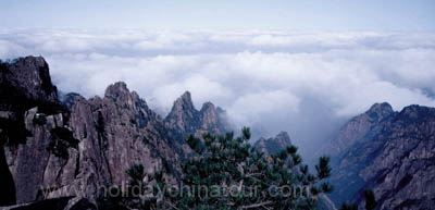 Huangshan Cloud Sea Photo