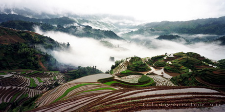 Longji Rice Terraces, Guilin Tour