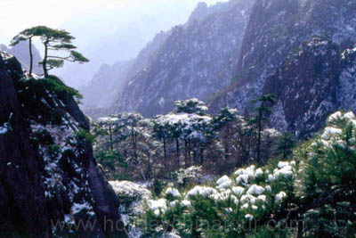Photo tour, snow on Mt. Huangshan